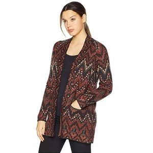NWT Lucky Brand Ikat Cardigan